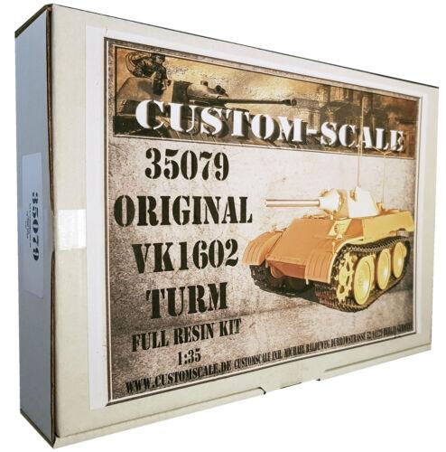 1:35 35079 Original VK 1602 Turm Conversion Kit Resin
