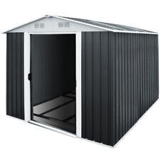 XXXL Deuba® Metall Gerätehaus Gartenhaus Geräteschuppen 8m² Schiebetür