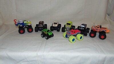 100% Kwaliteit Lot Of 8 Monster Trucks Een Grote Verscheidenheid Aan Modellen