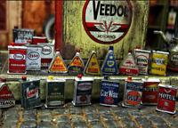 Öl Oel Oil Dose Can Metall Kanister für Modellauto Garage Deko Zubehör Kit 1/18