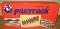 Lionel 6-12038 Fastrack Elevated Trestle Set O Gauge Toy Train Layout Fast Track
