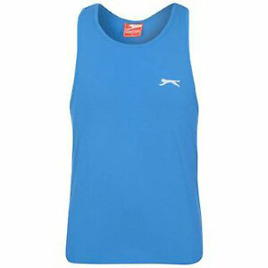 MENS-SIZE-XL-SLAZENGER-BLUE-MUSCLE-VEST-TOP-GYM-SPORT-RUNNING-NEXT-DAY-POST-BNWT