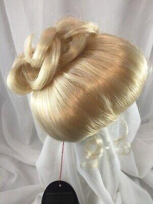 "12//13"" Native Braids Black Doll Wig Reborn OOAK BJD Bisque Repair TOMO BRAIDS"