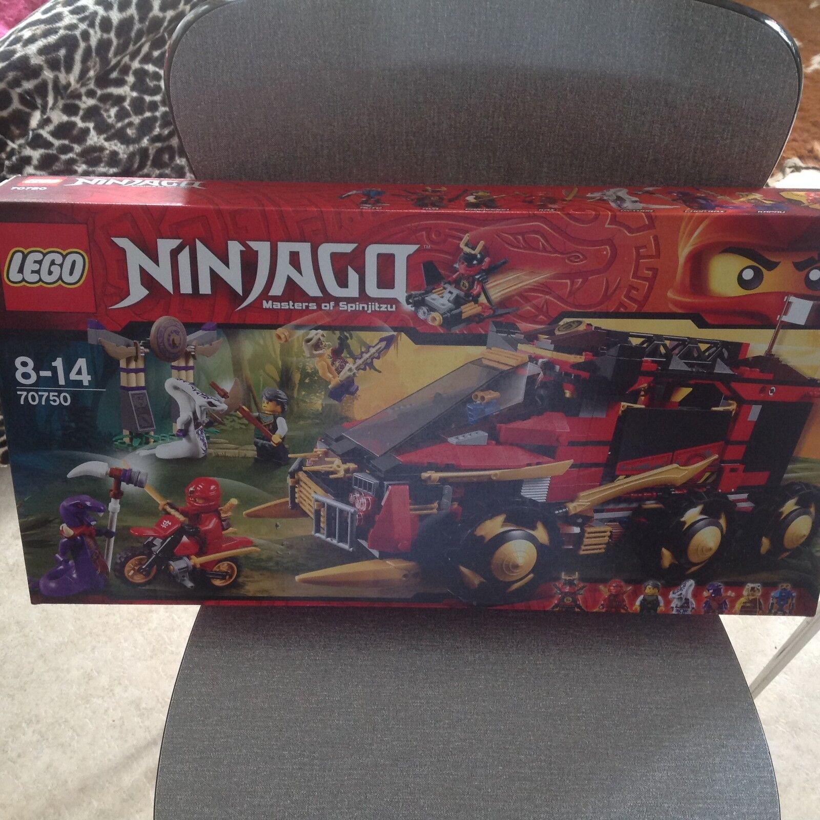 Lego 70750 Ninjago Masters of Spinjitzu