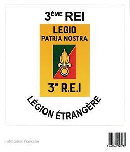 Autocollant-3-REI-3-Regiment-Etranger-d-039-Infanterie-LEGION-ETRANGERE-10-x-10-cm