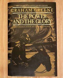 THE-POWER-AND-THE-GLORY-Fiftieth-Anniversary-Edition-by-Graham-Greene-HC-DJ