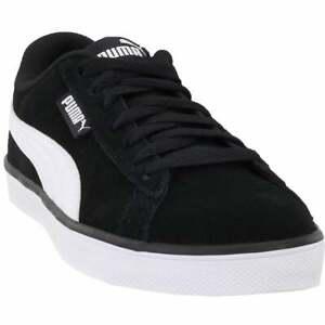 puma urban plus suede sneakers casual sneakers black mens