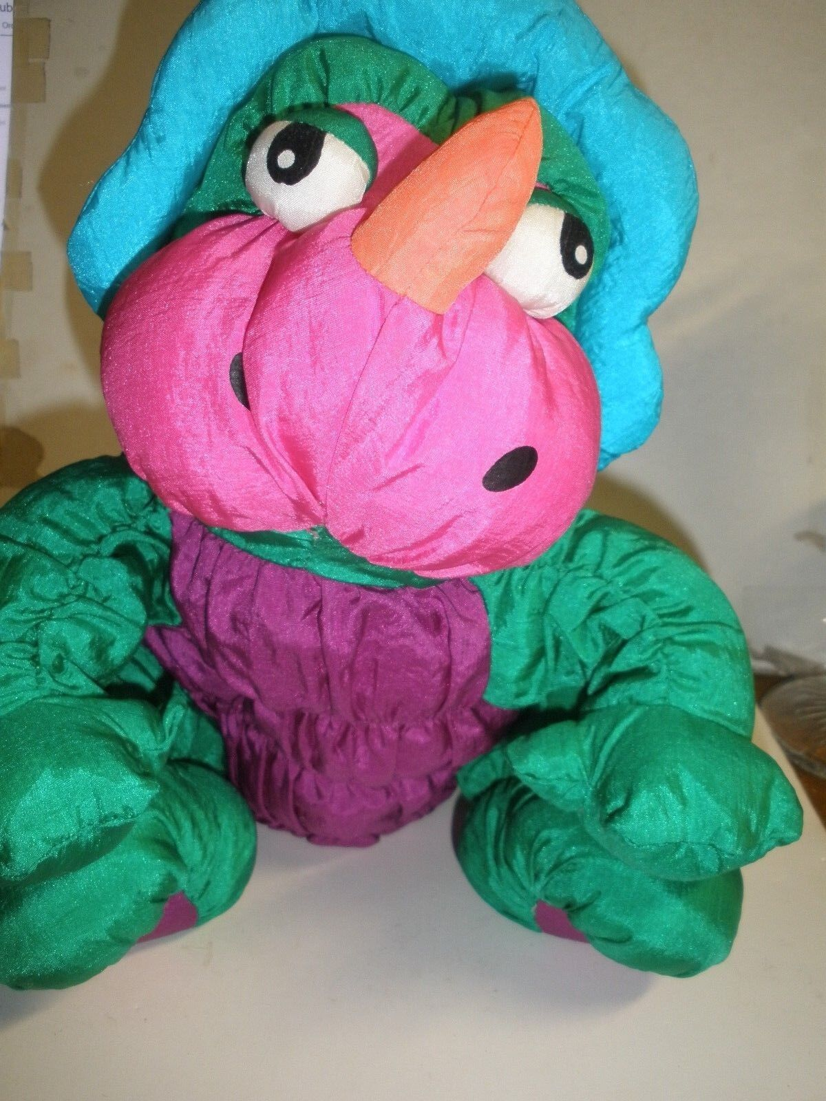 HTF 1993 Summit Dinosaur Plush  14