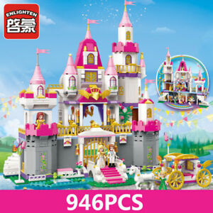 Enlighten Building Blocks Bricks Girls Friends Princess Angel Castle Celebration