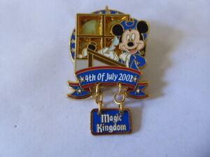 Disney-Intercambio-Broches-5686-WDW-Magic-Kingdom-Fourth-de-Julio-2001