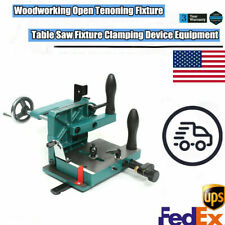 New H7583 Industrial Woodworking Open Tenon Table Saw Tenoning T Slot Vise Clamp
