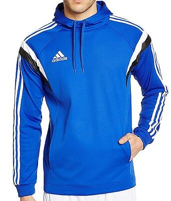 Adidas Men's Condivo 14 Training Hoody,Hoodie,Sweatshirt Blue CobaltWhiteBlack | eBay