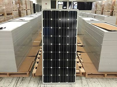 20x 165 Watt Solar Panel for Charging 12 Volt Battery, Off Grid, Made in USA!
