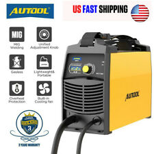 Mig Welder Gas Less Flux Core Wire Automatic Feed Inverter Welding Machine 110v