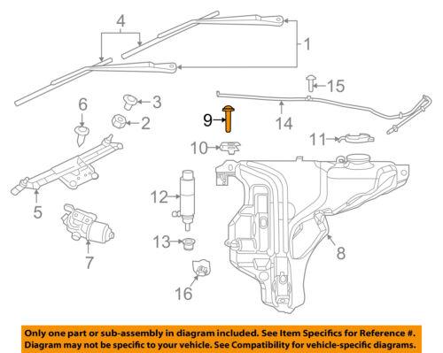CHRYSLER OEM Front Bumper-Cover Retainer Clip or Bracket 6504521