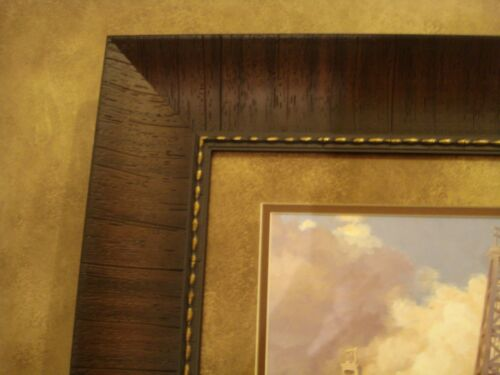 """ANDY THOMAS FRAMED /""""BLACK GOLD/"""" OPEN EDITION PRINT /""""OIL DERRICK/"""""""