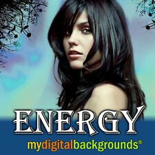 ENERGY Digital Backgrounds Backdrops Templates for Portrait Photography NEW!