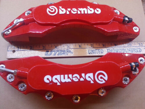 Brembo Disc Brake Caliper Covers Universal Fit Front//Rear 1 Pair-NICE *US SHIP*