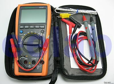 New VC97+ 3999 Auto range multimeter 1 yr warranty buzz