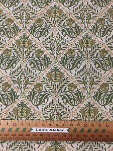034-Morris-034-a-1981-Sanderson-Fabric-Curtain-Weight-1-2-metre-x-120-cm-wide