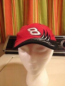 Racing-nascar Dale Earnhardt Jr 8 Red Black White Youth Baseball Ball Hat Cap Nascar Strapback
