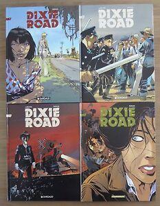 Dixie-road-serie-complete-de-4-tomes-en-EO-de-TBE-a-comme-neuf