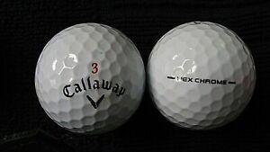 10-Callaway-034-Hex-Chrome-034-Balles-de-golf-034-PEARL-A-034-grades