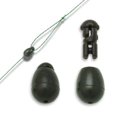 25 Stück Schnellwechselperlen Karpfenzubehör Methode Feeder Match Angelgeräte