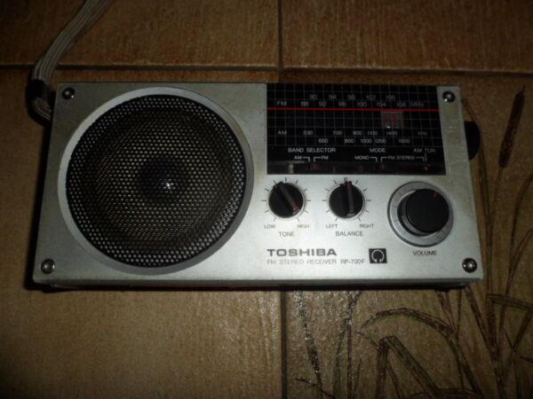 Agressief Radio Toshiba Rp 700f