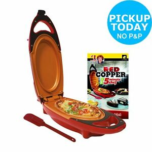Red-Copper-800W-2-Portion-5-Minute-Chef