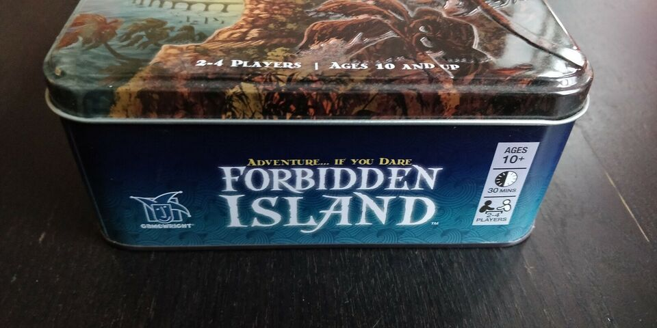 Forbidden island, Strategi / co-op, brætspil