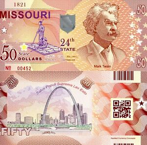 ACC STATE BANK NOTE SERIES: INDIANA POLYMER FANTASY ART