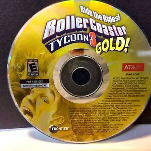 Details about Rollercoaster Tycoon 3 Gold (PC) GAME ONLY NO CODE #8491