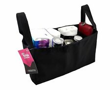 Periea Baby Handbag Organiser Bottles Nappies - Black - Pearl