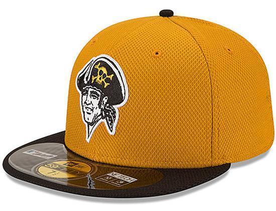 Buy MLB Pittsburgh Pirates Diamond Era Alternate 59fifty Baseball Cap  Mustard black 7 1 8 online  2c3cc282fbb