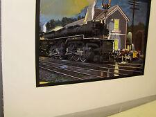 Chesapeake Ohio Railroad  Thurmond West Viriginia Artist Railroad Archives bt