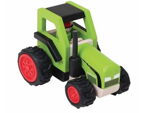 Traktor Holztraktor Bauernhof Njoykids 14099 Holzspielzeug Bauernhof