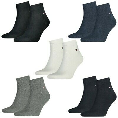 4 Paar TOMMY HILFIGER Herren Quarter Socken Gr. 39 49