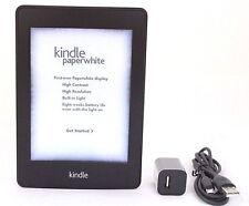 Amazon Kindle Paperwhite, 1st Gen, Wi-Fi, Black - (44-4A + 43-6E)