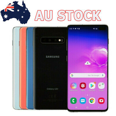 Details about  NEW Samsung Galaxy S10+ SM-G975U 128GB GSM AT&T Unlocked Smartphpne AU Stock