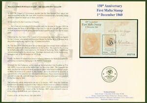 Malta-2010-Block-48-was-nicht-im-Katalog-steht-Folder-Auflage-2000-Stueck