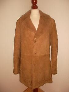 true-vintage-70-s-Lammfellmantel-Hippie-boho-sheep-skin-coat-Fell-Mantel-M