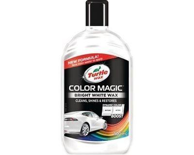Turtlewax - Color Magic White Wax Polish 500ml New Formula Shades of White