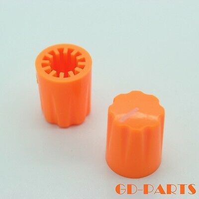 10PCS 16*13mm Generic Orange Pointer Knob for Guitar effect pedal DAVIES STYLE