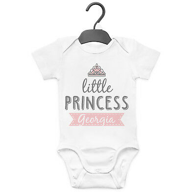 ANY NAME Daddy/'s Little Man Personalised Baby Clothes- Vest//Body suit GIFT