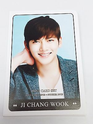 Ji Chang Wook Postcard Set + Sticker KPOP Korea Post Card K-POP Korean K Pop