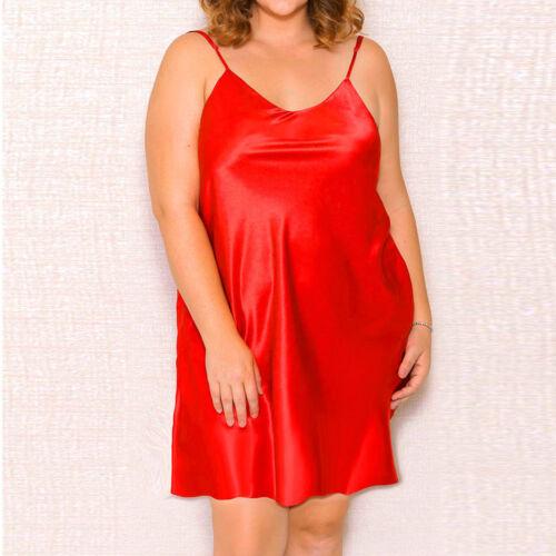 Womens Dress Plus Size Lingerie Babydoll Nightwear Sleepskirt Underwear s-5xl