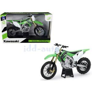 Kawasaki KX 450F Green 1//12 Diecast Motorcycle Model 58103