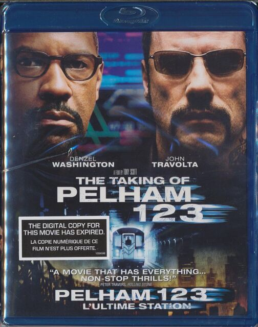 The Taking of Pelham 1 2 3 (Blu-ray SALE, 2009) Denzel Washington BRAND NEW