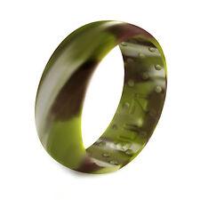 BULZi - Massaging Comfort Mens & Womens Silicone Wedding Band Safety Rubber Ring